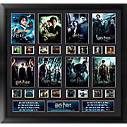 harry potter 8 movie collection framed film cell collage
