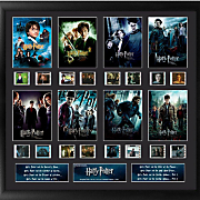 Harry Potter 8-Movie Collection Framed Film Cell Collage