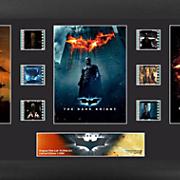 Batman Dark Knight Trilogy Framed Film Cell Collage
