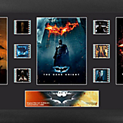 Batman Dark Knight Trilogy Framed Film Cell Collage
