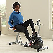 recumbent bike by sunny health   fitness