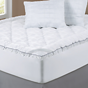 Sleep Connection® Satin Fiberbed with Pillows by Montgomery Ward