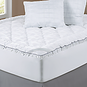 sleep connection satin fiberbed with pillows by montgomery ward