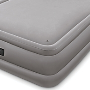 memory foam top air bed by intex