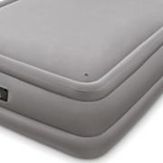 memory foam top air bed by intex