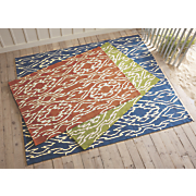 ikat indoor outdoor rug