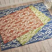 ikat indoor outdoor rug