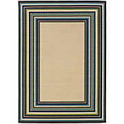 aruba border indoor outdoor rug