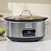 Professional 7-Qt. Programmable Slow Cooker by Frigidaire