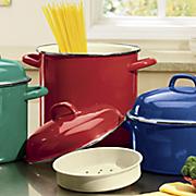 7 pc  enamel on steel healthy cookware set by granite ware