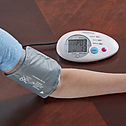 automatic arm blood pressure monitor by lumiscope
