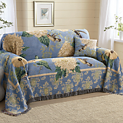 aleteo de Colibrí muebles tiro y almohada