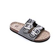 terra turf print strap sandal by muk luks