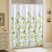 Wild Birds Shower Curtain