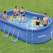 15  oval quick set pool by summer waves