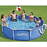 10  x 30  round metal frame pool by summer waves