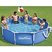 10  x 30  round metal frame pool by summer waves