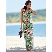 Hawaiian Floral Dress