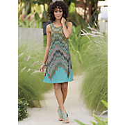 Scatter Print Dress