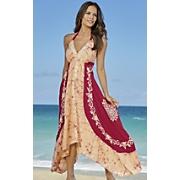 halter sunset dress 63