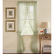 Emelia Sheer Voile Priscilla Panel Pair