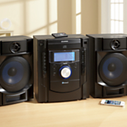 Mini Stereo System with Bluetooth by Sylvania
