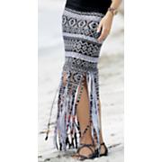 Tribal Beat Fringe Skirt