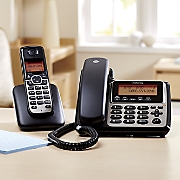 corded cordless phones with answering machine by motorola