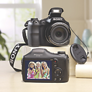 20.1 MP Digital Camera with 35x Optical Zoom by Sony