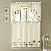 floral medallion window treatments