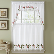 floral trellis window treatments