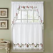 floral trellis window treatments