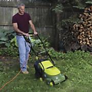 mow joe electric lawn mower by sun joe