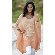 Soutache Caftan Top