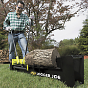 log splitter by sun joe