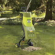 wood chipper shredder by sun joe