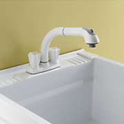 pullout utility faucet by cleanflo