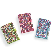 Bejeweled Mini Journal with Pen