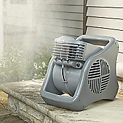 outdoor misting fan by lasko