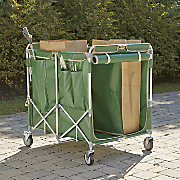4 bag lawn leaf cart