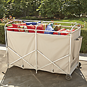 deluxe collapsible cushion cart