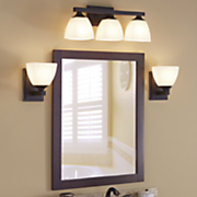 helix vanity light and sconce