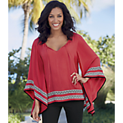 trim poncho top 5