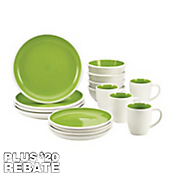 16-Piece Rise Dinnerware Set by Rachael Ray ®