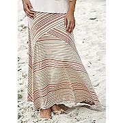sensational stripe skirt