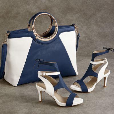 Kelsie Bag and Sandal