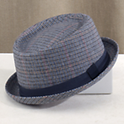 plaid porkpie hat by steve harvey