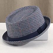 plaid porkpie hat by steve harvey