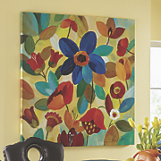 Colorful Flowers Canvas