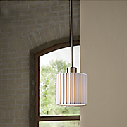 grace blown glass mini pendant light